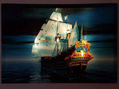 "Picture of LED Lighted  Canvas Wall Art17.5""x25.5"""