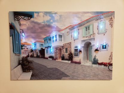 "Picture of LED Lighted  Canvas Wall Art 36""x24"""
