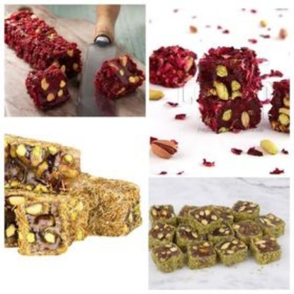 Picture of Turkish Delight -Pomegranate and Honey /1kg